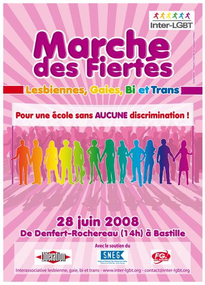 gaypride 2008 lutte contre les discriminations