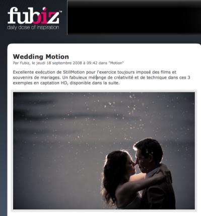 filmer un mariage de manière originale