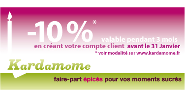 offre commerciale 1 an Kardamome