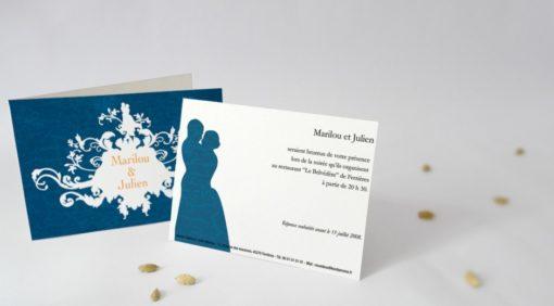Carton d'invitation Ornementation
