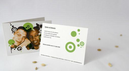 Carton d'invitation Bubble-Gum