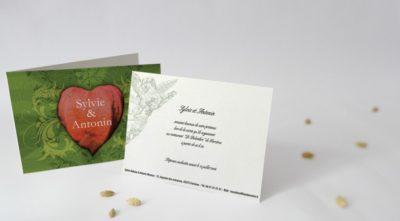 Carton d'invitation Cantate