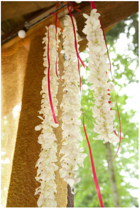 décoration florale écolo-chic