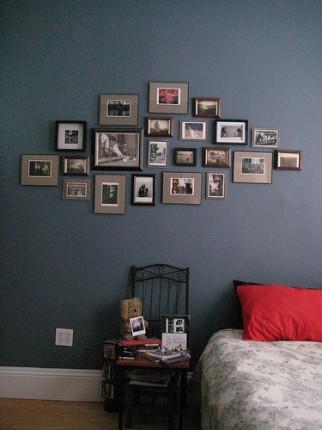 d coration de mariage pacs anniversaire originale d corer un mur avec des cadres. Black Bedroom Furniture Sets. Home Design Ideas