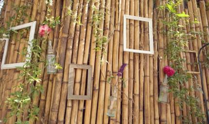 décoration de mariage eco-design