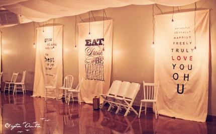 décoration mariage originale affiches