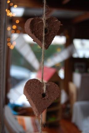 cadeau original écolo à semer coeur de graines guirlandes