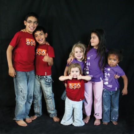 t-shirt enfant bio equitable